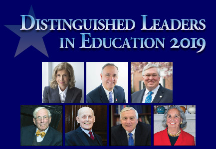 Distinguished Leaders in Education 2019