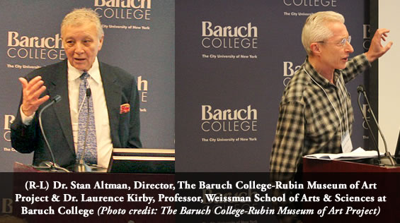 Baruch College and the Rubin Museum of Art