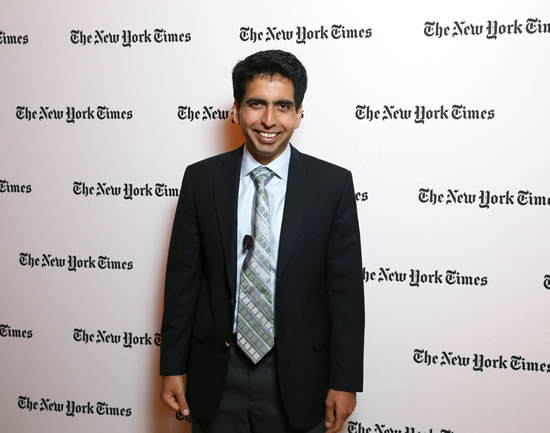 Dr. Sal Khan, CEO of the Khan Academy