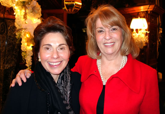 (L-R) Dr. Merryl H. Tisch, Chancellor, NYS Board of Regents &  Dr. Christine Cea, NYS Board of Regents