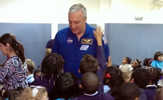 NASA Astronaut Visits Teachers College Community School