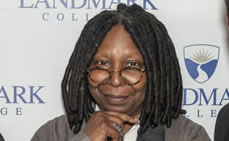 Whoopi Goldberg Receives The Landmark College LD Luminary Award