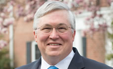 President Tim Hall, Mercy College