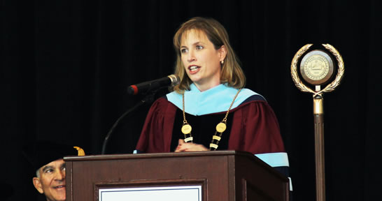 Vaughn College Installs Dr. Sharon DeVivo as Seventh President in 82-Year History