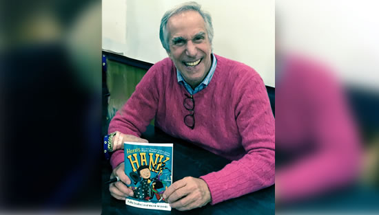 "Henry Winkler and Lin Oliver Celebrate the Release of 4th ""Here's Hank"" Book"