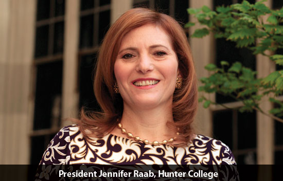 President Jennifer Raab, Hunter College