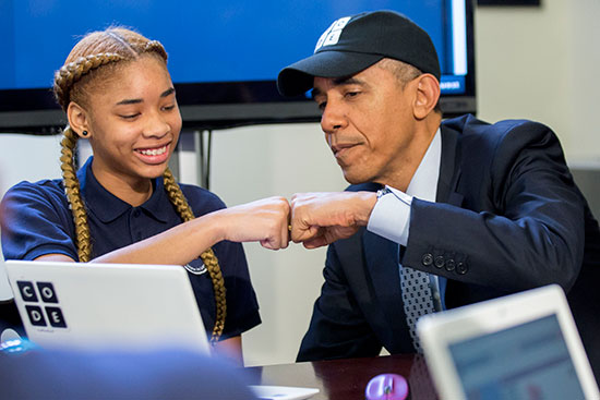 The Privilege of Coding with President Obama