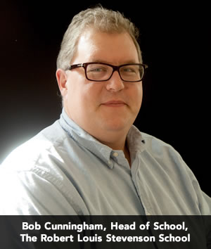 Bob Cunningham, Head of School, The Robert Louis Stevenson School