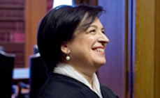 Supreme Court Associate Justice Elena Kagan Honored at Hunter College