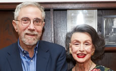 Paul Krugman, NY Times Columnist & Nobel Laureate Delivers Annual Kossoff Lecture at Roosevelt House